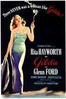There Was Never a Woman Like Gilda Framed Print