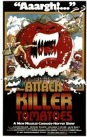 Attack of the Killer Tomatoes Wall Poster
