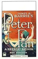 Peter Pan Book by James M. Barrie Wall Poster