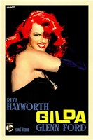 Gilda Red Hair Framed Print