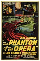 The Phantom of the Opera Carl Kaemmle Framed Print