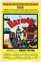 Batman Cartoon Wall Poster