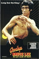 Goodbye Bruce Lee Wall Poster
