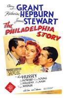 The Philadelphia Story - Katherine Hepburn Wall Poster