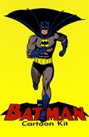 Batman Cartoon Kit Wall Poster