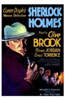 Sherlock Holmes Wall Poster