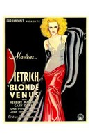 Blonde Venus - woman posed Wall Poster