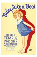 Baby Take a Bow Wall Poster