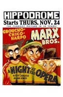 A Night At the Opera Hippodrome Wall Poster