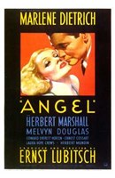 Angel Marlene Dietrich - couple Wall Poster