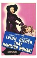 That Hamilton Woman Vivien Leigh Wall Poster