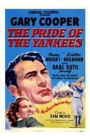 The Pride of the Yankees - Gary Cooper Framed Print