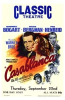 Casablanca Classic Theater Wall Poster
