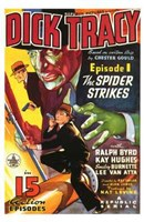 Dick Tracy The Spider Strikes Wall Poster