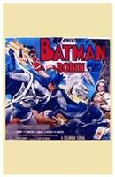 Batman and Robin Adventures Wall Poster