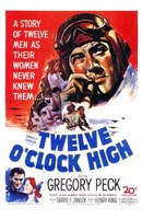 Twelve O'clock High Wall Poster
