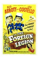 Abbott and Costello in the Foreign Legion, c.1950 Fine Art Print