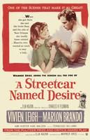 Streetcar Named Desire Marlon Brando Wall Poster