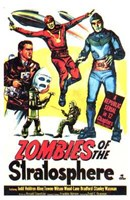 Zombies of the Stratosphere Wall Poster