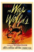 The War of the Worlds Original Fine Art Print
