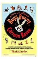 Bugs Bunny a Cartoon Revue Wall Poster