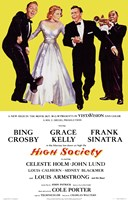 High Society - tall Framed Print