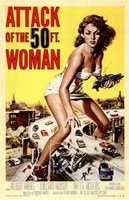 Attack of the 50 Foot Woman Wall Poster