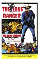 Lone Ranger and the Lost City of Gold  T Framed Print