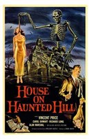 House on Haunted Hill Framed Print