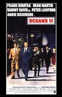 Oceans 11 Dean Martin Framed Print