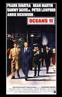 Oceans 11 Dean Martin Fine Art Print