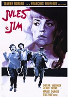 Jules and Jim Oscar Werner Wall Poster
