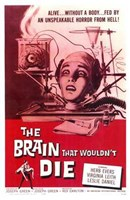 The Brain That Wouldn't Die Wall Poster