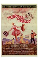 The Sound of Music Dancing Wall Poster