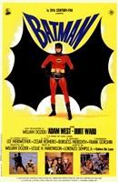 Batman Movie Drawing Wall Poster