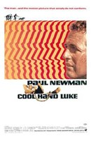 Cool Hand Luke Retro Framed Print