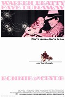 Bonnie and Clyde Beatty Dunaway Framed Print