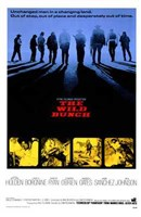 The Wild Bunch - blue Wall Poster