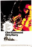 Dirty Harry Shooting Wall Poster