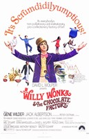 Willy Wonka and the Chocolate Factory - It's Scrumdidilyumptious Wall Poster