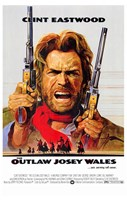 Outlaw Josey Wales Wall Poster