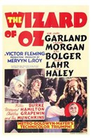 The Wizard of Oz Garland Morgan Bolger Lanr Haley Wall Poster