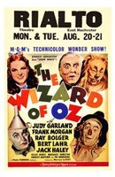The Wizard of Oz Rialto Wall Poster