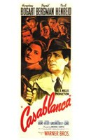 Casablanca Vertical Movie Cast Wall Poster