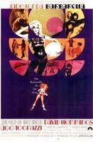 Barbarella Ugo Tognazzi Wall Poster
