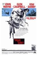 True Grit John Wayne Wall Poster