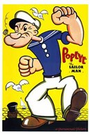 Popeye Wall Poster
