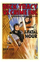 Dick Tracy Vs Crime Inc Chapter 1 Wall Poster