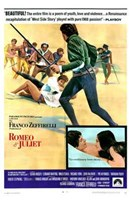 Romeo and Juliet Franco Zeffirelli Wall Poster