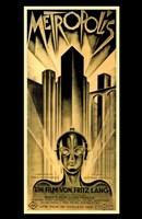 Metropolis Gold Fine Art Print
